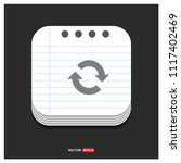 reload icon   free vector icon   Shutterstock .eps vector #1117402469