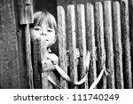 Beautiful Child Standing Near...