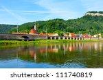 "the old city ""koenigstein"" on... | Shutterstock . vector #111740819"