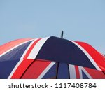 Umbrella With National Flag Of...