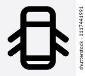 open door car icon | Shutterstock . vector #1117441991