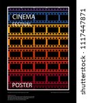 movie and film abstract modern... | Shutterstock .eps vector #1117447871