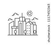 city landscape vector... | Shutterstock .eps vector #1117452365