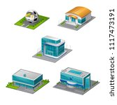 sports facility 3d arena | Shutterstock .eps vector #1117473191