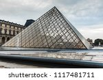 paris  france. 01 june 2018 ... | Shutterstock . vector #1117481711