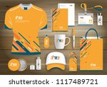 corporate identity business ... | Shutterstock .eps vector #1117489721