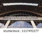 istanbul  turkey   circa april  ... | Shutterstock . vector #1117492277