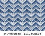 ikat geometric folklore... | Shutterstock .eps vector #1117500695