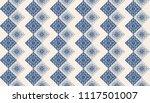 ikat geometric folklore... | Shutterstock .eps vector #1117501007