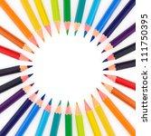multi colored pencils indicate