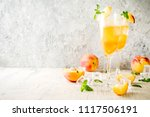 summer cold alcohol beverage ... | Shutterstock . vector #1117506191