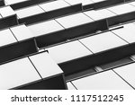 abstract fragment of modern... | Shutterstock . vector #1117512245