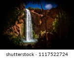 waterfall at havasu falls | Shutterstock . vector #1117522724