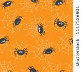 seamless pattern with cute... | Shutterstock .eps vector #1117526801