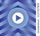 white arrow icon on blue... | Shutterstock .eps vector #1117527839