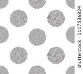 background with halftone... | Shutterstock .eps vector #1117536824
