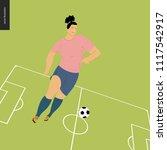 womens european football ...   Shutterstock .eps vector #1117542917
