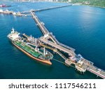 oil tanker  gas tanker in the... | Shutterstock . vector #1117546211