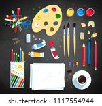 top view vector illustration... | Shutterstock .eps vector #1117554944