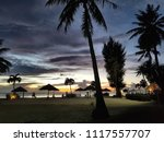 micro beach sunset   Shutterstock . vector #1117557707