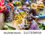 bangkok   march 18  people... | Shutterstock . vector #1117558934