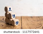 organization and team structure ... | Shutterstock . vector #1117572641