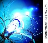 vector shiny background | Shutterstock .eps vector #111757274