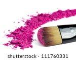 professional make up brush on... | Shutterstock . vector #111760331