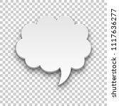 quote style form cloud... | Shutterstock .eps vector #1117636277