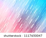 light blue  red vector pattern... | Shutterstock .eps vector #1117650047