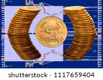 Single Gold Eagle Coin With...