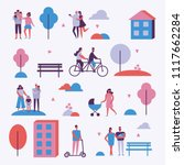 vector backgrounds in flat... | Shutterstock .eps vector #1117662284