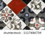 texture of ceramic tiles in...   Shutterstock . vector #1117686734