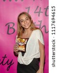 Small photo of Natallie Sigler attends Jillian Estell's Red Carpet Birthday Party With A Purpose - Benefitting The Celiac Disease Foundation at Higher Vision Church, Los Angeles, CA on June 15th, 2018