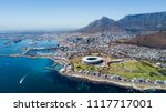 cape town bird's eye view  best ... | Shutterstock . vector #1117717001