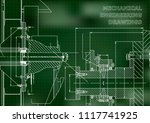 technical illustration.... | Shutterstock .eps vector #1117741925