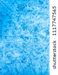 textured ice blue frozen rink... | Shutterstock . vector #1117747565