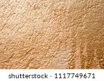 an old gilded stone wall in the ... | Shutterstock . vector #1117749671