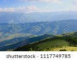 summer high view mountain... | Shutterstock . vector #1117749785