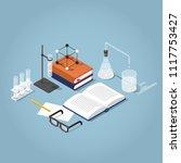 vector isometric school... | Shutterstock .eps vector #1117753427