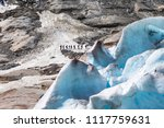 nigardsbreen. a glacier arm of... | Shutterstock . vector #1117759631
