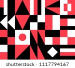 abstract geometric pattern and... | Shutterstock .eps vector #1117794167