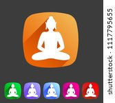 buddha statue buddhism icon...   Shutterstock .eps vector #1117795655