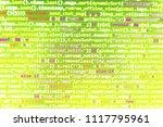 closeup of java script  css and ...   Shutterstock . vector #1117795961