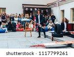 may 13  2018 minsk belarus... | Shutterstock . vector #1117799261