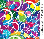 seamless pattern with... | Shutterstock .eps vector #111780449