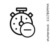 remove time icon | Shutterstock .eps vector #1117809944