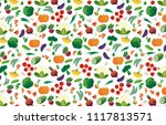 background of different... | Shutterstock .eps vector #1117813571