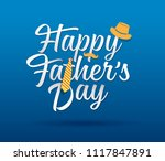 happy father s day... | Shutterstock .eps vector #1117847891