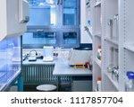 interior of modern research... | Shutterstock . vector #1117857704